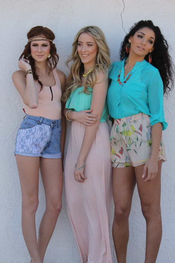 Hearts Spring 2013 photoshoot